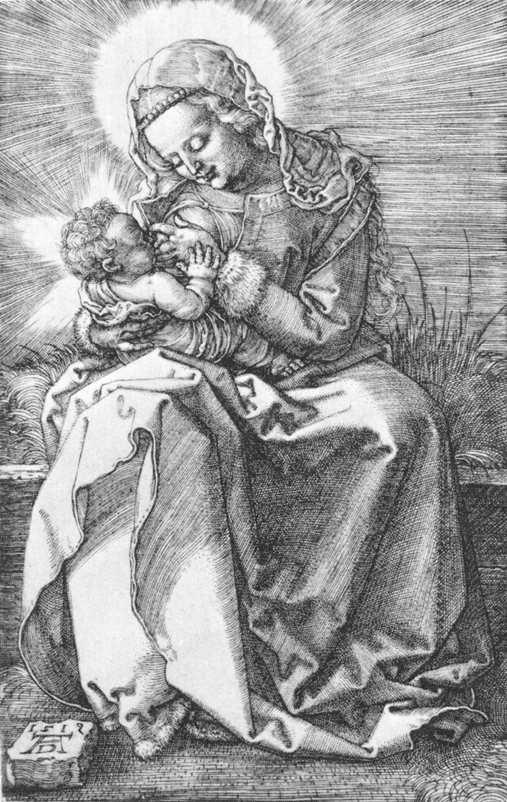 """""""Madonna Nursing"""" by Albrecht Durer"""
